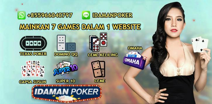 Situs Poker Online Uang Asli | Link Alternatif IdamanPoker